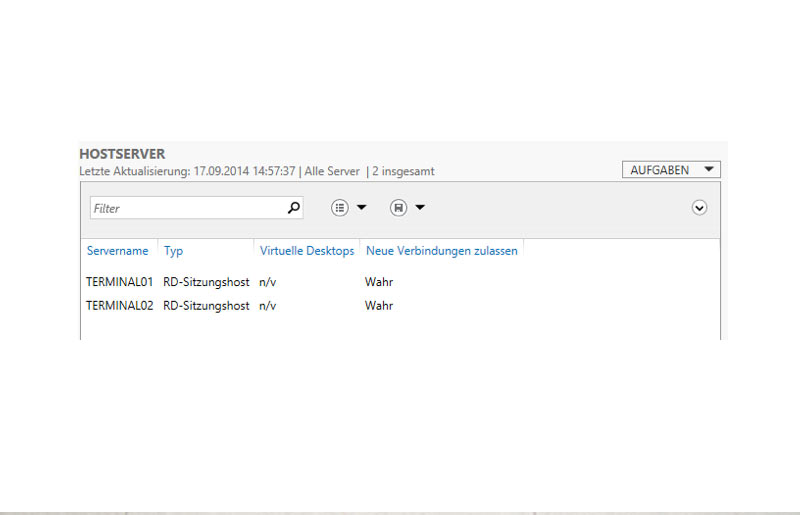 Terminalserver Lastausgleich mit Windows Server 2012