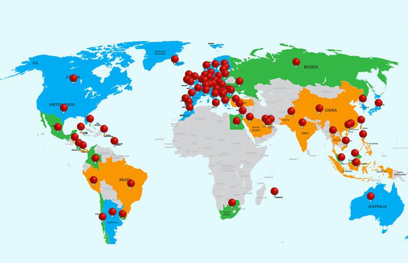 Details zu weltweiten Datenschutzgesetzen