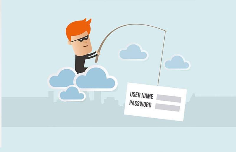 Phisher stehlen persönlichen Daten wie Benutzername, Passwörter, Kreditkartennummer oder PINs
