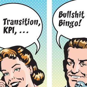 Comic Telefonat: ITIL oder Bullshit Bingo