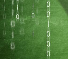 Matrix in grün