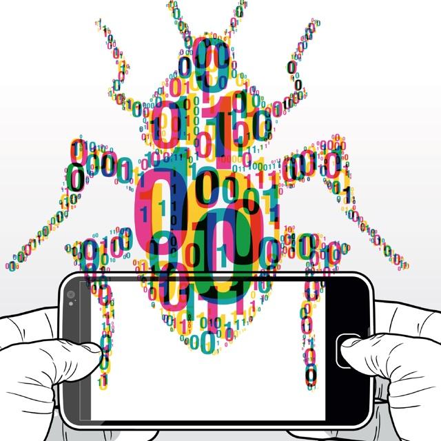 Bugs - Käfer aus Binärcode