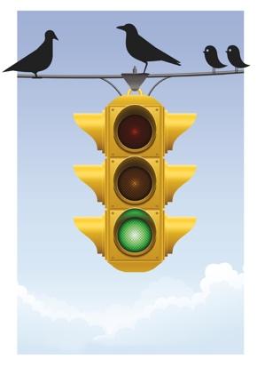 Mittels Ampel-Skala Entscheidungskompetenz vermitteln