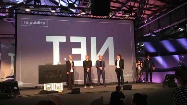 Die vier Gründer der re:publica