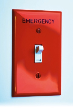 Emergency Button für Rechenzentren