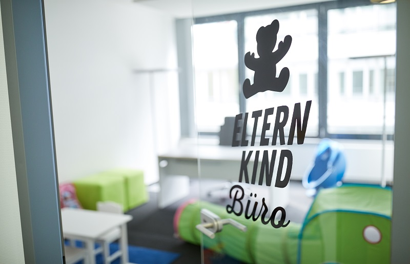 Unser Eltern-Kind-Büro in den Räumlichkeiten in Offenbach