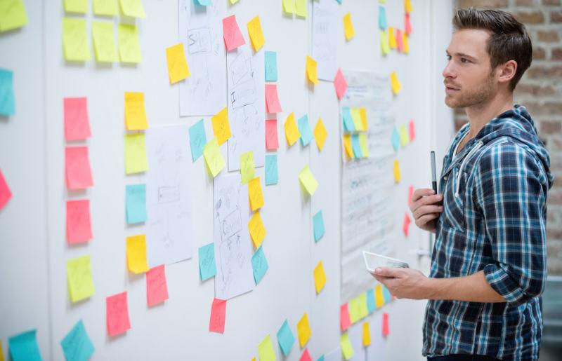 Agile Teamarbeit mit Scrum-Board